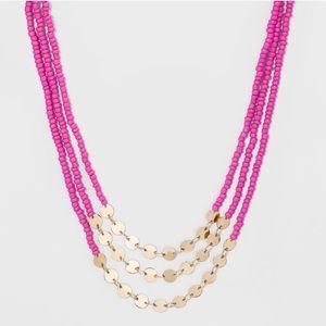 Nwt Baublebar multistrand necklace